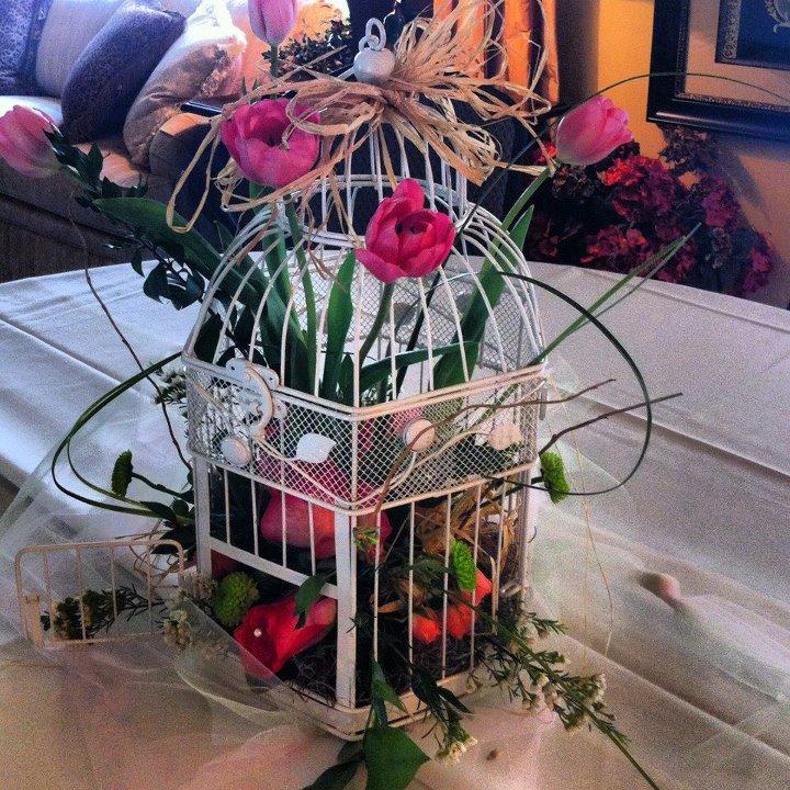 Unique wedding flowers by The Flower Shop, Pryor OK