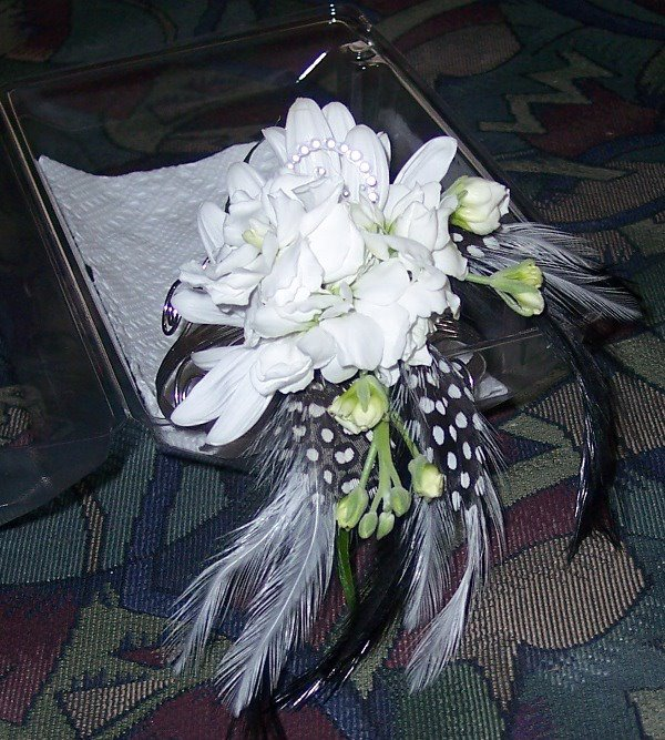 Lasting Florals, Arm Cuff Flowers