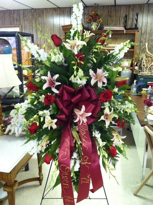 Funeral Flowers by Swanannoa Flower Shop, Swanannoa NC