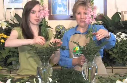 DIY Flower Arranging