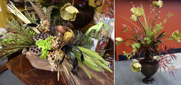 Fall designs at Flower Patch & More