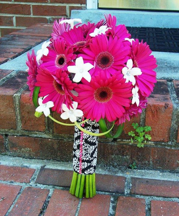 Fresh Gerbera bouquet by Lasting Florals, Midlothian VA