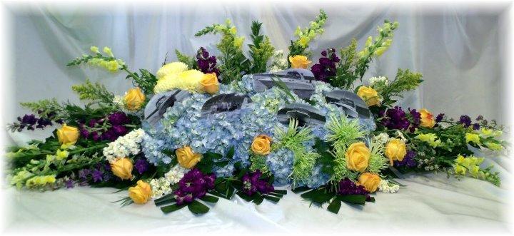 Custom Funeral Tribute by MaryJane Flowers & Gifts, Berlin NJ