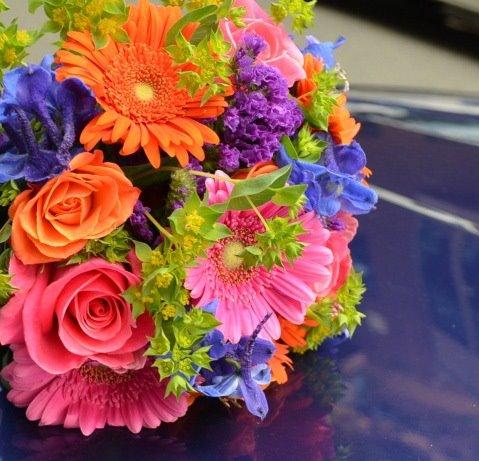Monday Morning Flowers - Wedding Bouquet