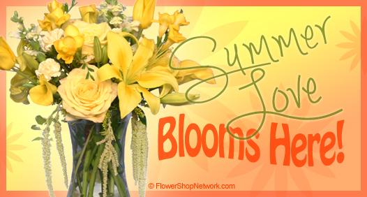 Summer Flowers = Summer Love