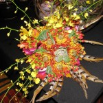 Fall Colors Wedding Bouquet by A'Bloom LTD, Walkersville MD