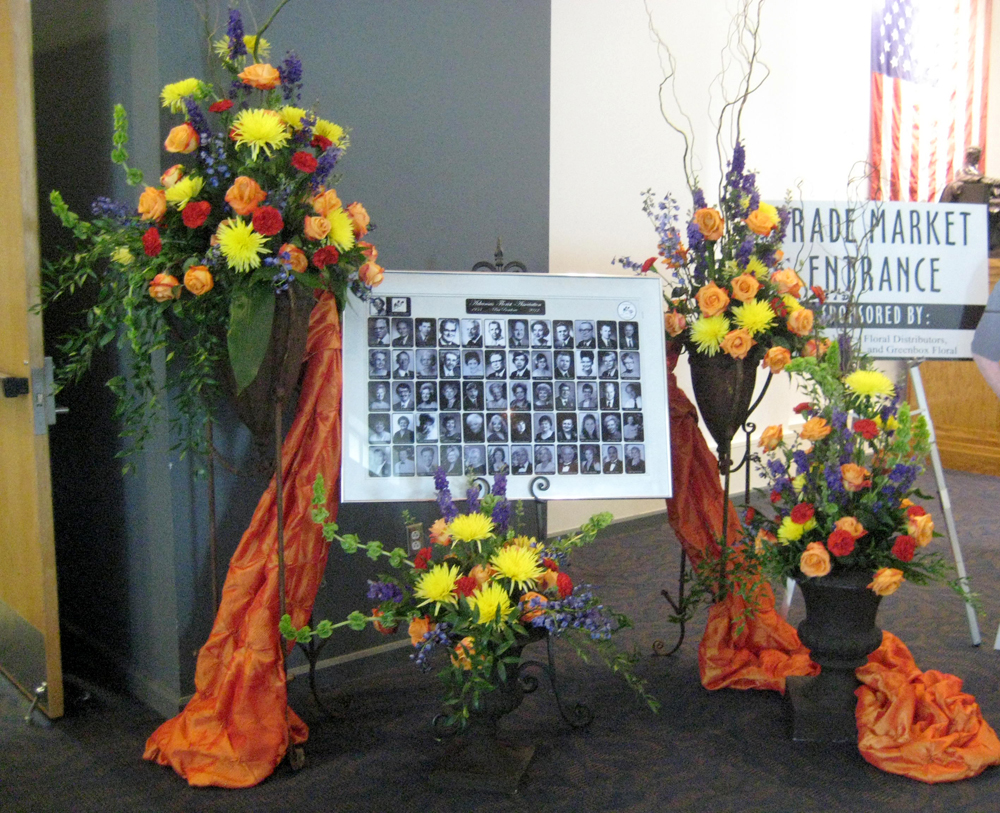 Fsn at the 2012 arkansas florist association convention 2012 arkansas florist association convention entry way 2012 arkansas florist association convention entry way dhlflorist Choice Image
