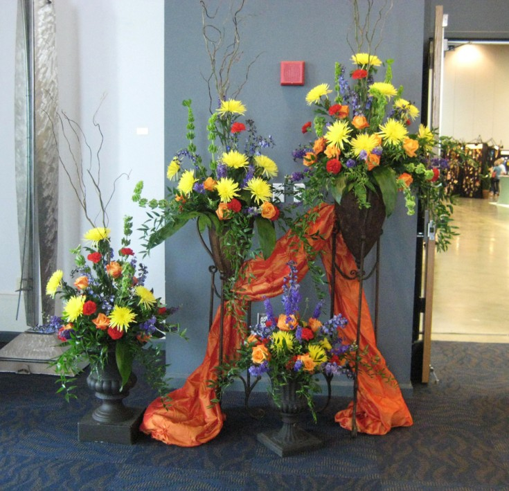 2012 Arkansas Florist Association Convention Entry Way