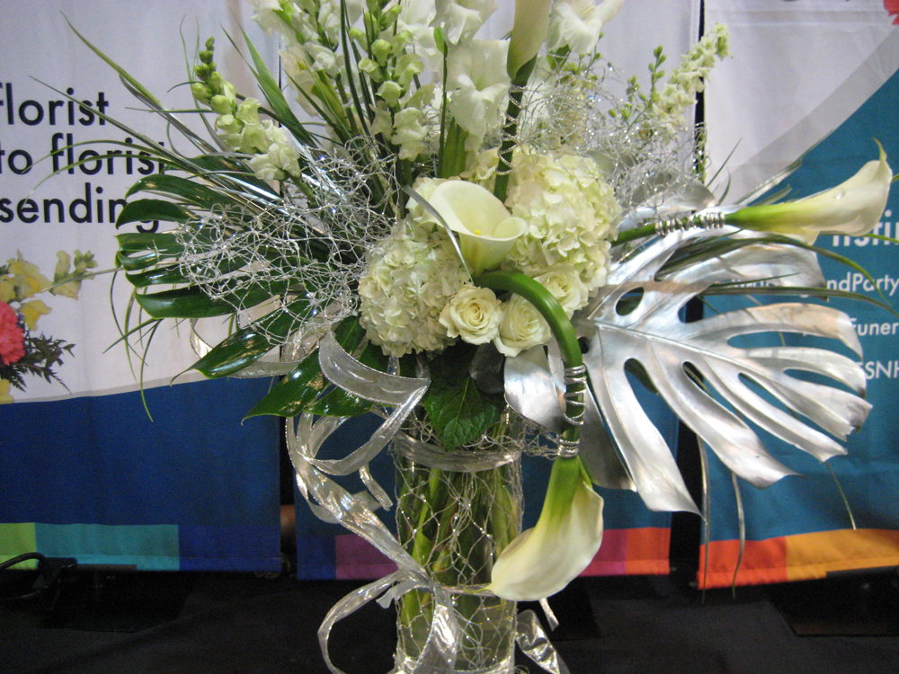 Fsn at the 2012 arkansas florist association convention flower shop networks gorgeous booth flowers mightylinksfo