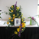 Memorial Flowers Entry for the Mid American Cup by Billy Jolley, South Carolina