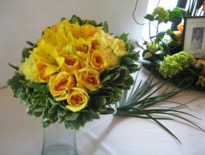 Square Wedding Bouquet by Steve Snow, Oklahoma