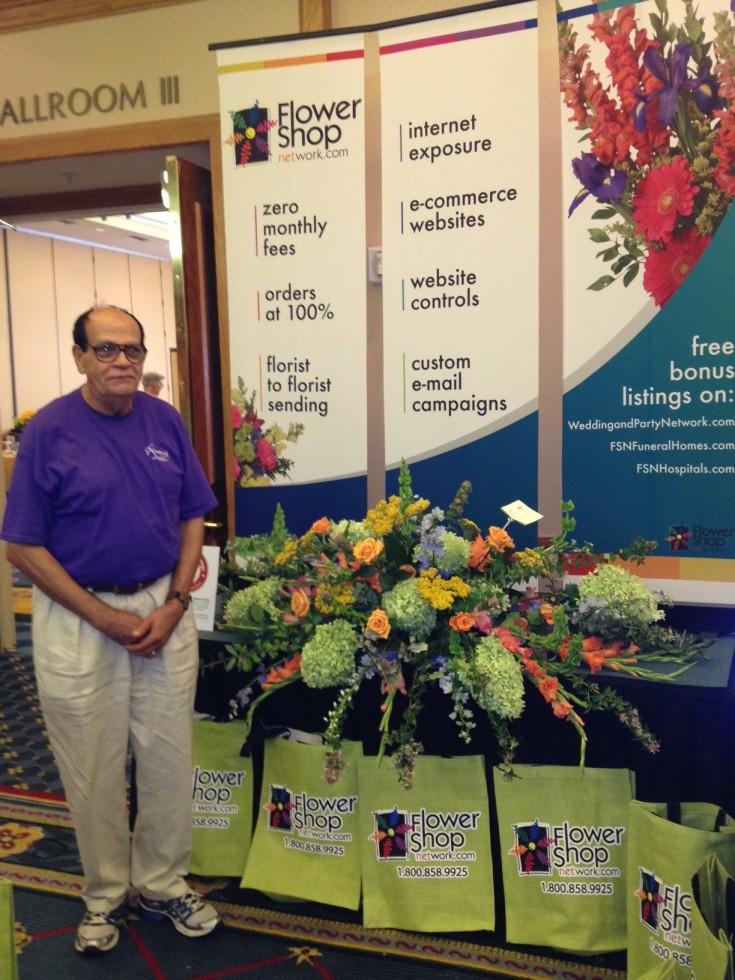 Bernard of Rosewood Florist, Columbia SC