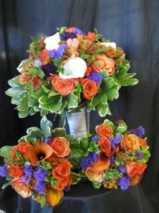 Wedding flowers by Botanica Creations, Klamath Falls OR