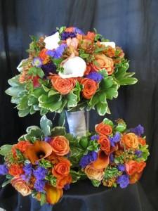 Wedding flowers by Botanica Creations, Klamath Falls OR
