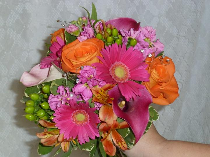Wedding bouquet by Cheswick Floral, Cheswick, PA