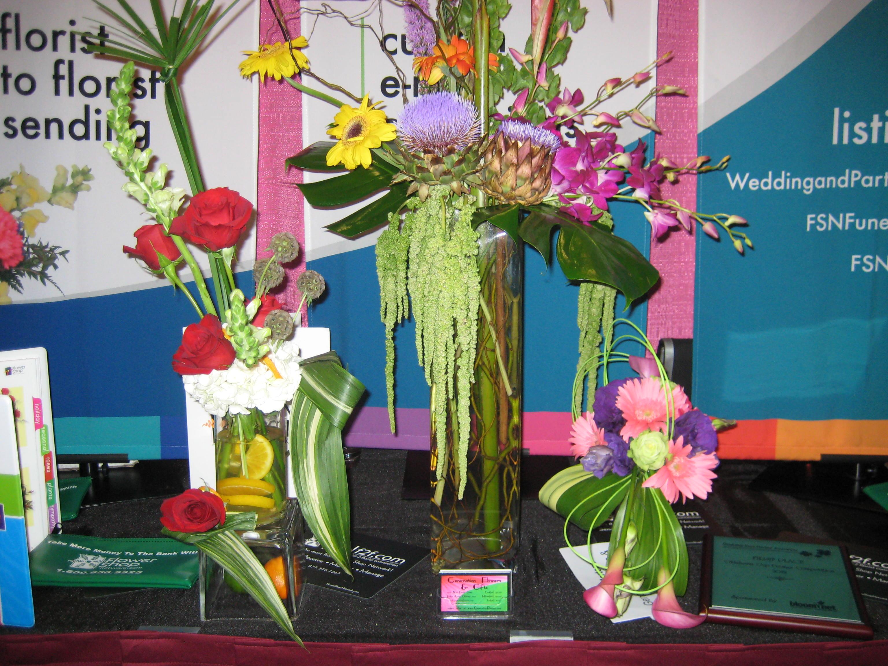 Flower arrangement ideas competitions
