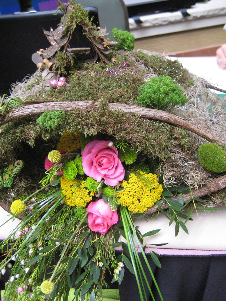 Large Fairy Garden Display