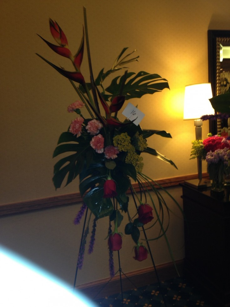 Tropical Funeral Arrangement