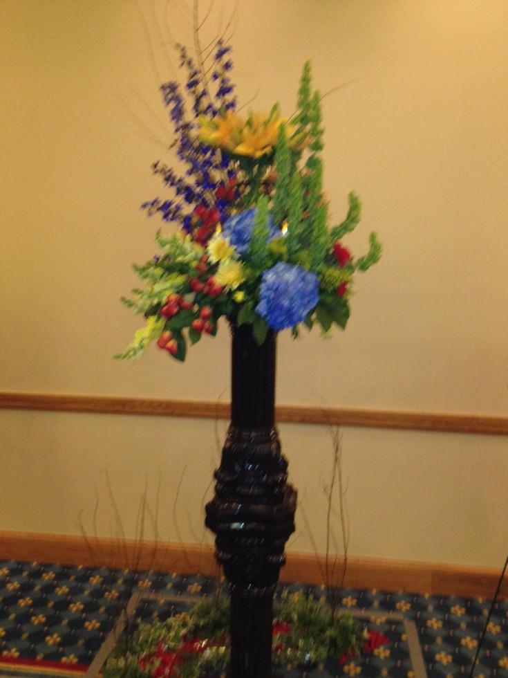Competition Flower Arrangement