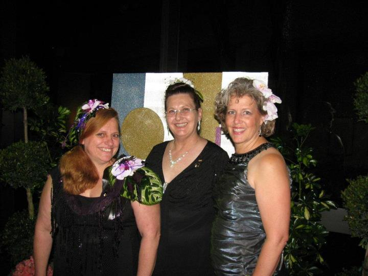 Lori Himes, Janet Frye and Betsy Galliher