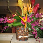 Tiki Flowers at the North Carolina State Florist Convention