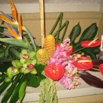Tropical Tiki Flowers at the North Carolina State Florist Convention