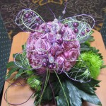 Wire Butterfly Flowers at the North Carolina State Florist Convention