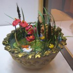 Miniature pond flowers at the North Carolina State Florist Convention