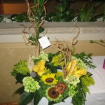 Rustic Flowers at the North Carolina State Florist Convention