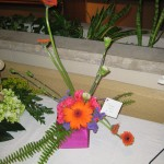 Playful flowers at the North Carolina State Florist Convention