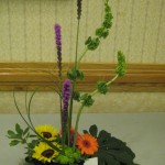Beautifully balanced floral design at the North Carolina State Florist Convention