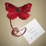 Butterfly design at the North Carolina State Florist Convention