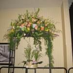 Wedding canopy at the North Carolina State Florist Convention