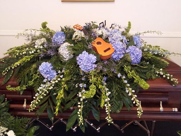 Casket Flowers by Personal Touch Florist, Galax VA