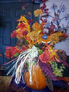 Fall flowers by The Personal Touch Florist, Galax VA