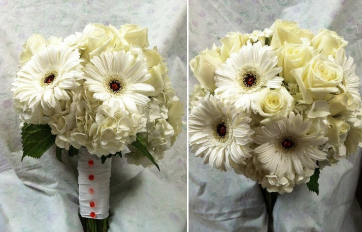 Bridal Bouquet by Swannanoa Flower Shop, Swannanoa NC
