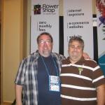 Roddy Bird & Chris Brenham at the Tennessee State Florist Convention