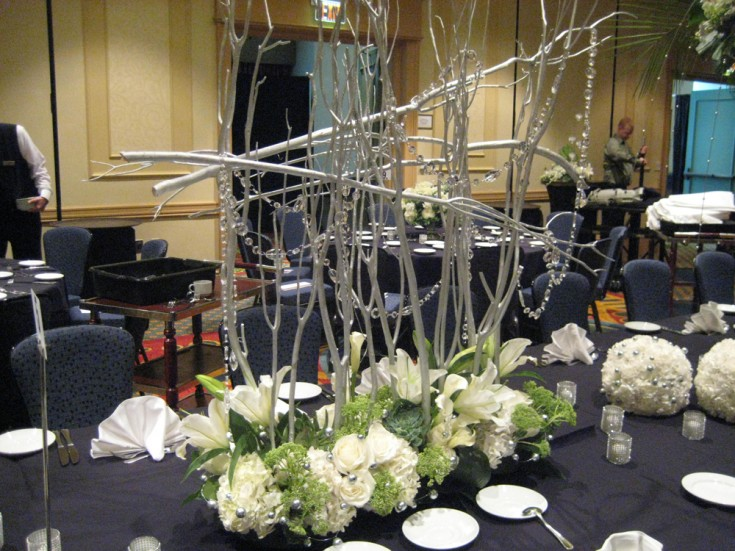 Tennessee State Florist Association Convention Banquet Centerpiece