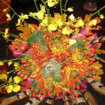 Fall Wedding Bouquet at the Tennesee State Florist Convention 2012