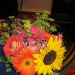 Sunflower Wedding Bouquet at the Tennesee State Florist Convention 2012