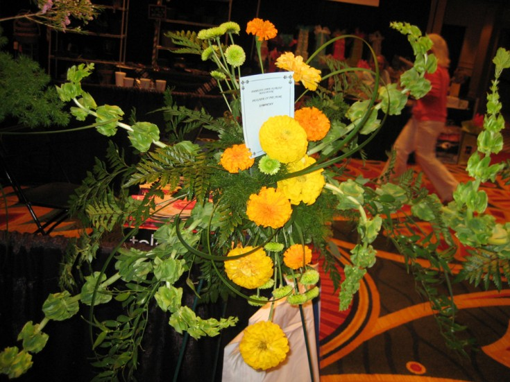 Funeral Flowers for the Designer of the Year Competition by Rae Griffith, True Colors Artistry in Springfeild IL