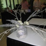 Silver Headdress at the Tennessee Florist Convention