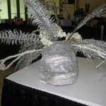 Headdress at the Tennessee Florist Convention