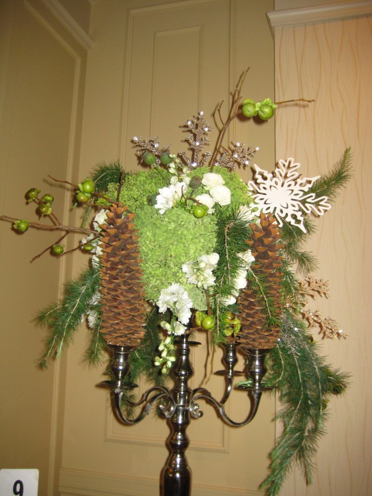 For the Table Top Competition of the Tennessee State Florist Convention