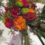 Colorful Wedding Bouquet at the Tennesee State Florist Convention 2012