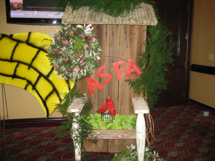 Alabama State Florist Association Convention Entry Way