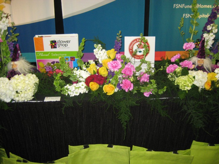 FSN Booth at the Alabama Florist Association Convention
