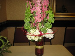 Beautiful Flower Arrangement from the Alabama State Florist Convention