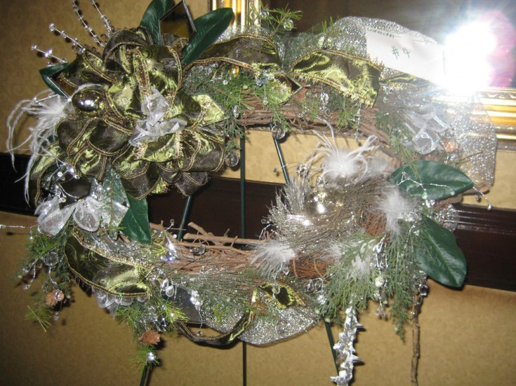 3rd Place Winner - Wreath Design Competition