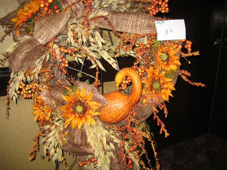 Harvest Time Wreath Design
